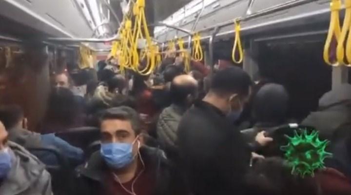 AKP'li meclis üyesi, İstanbul'daki metrobüs görüntüsü ile Ankara ulaşımını eleştirdi