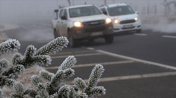 Meteoroloji'den buzlanma ve don uyarısı