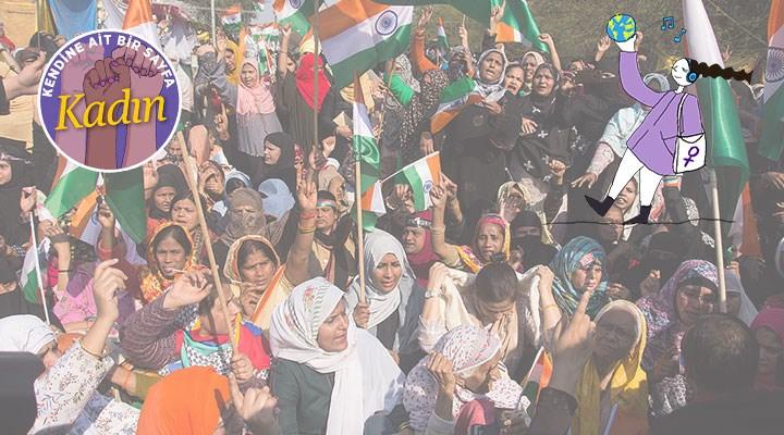 Hindistanlı kadınlar: Bu mücadelede biz de varız!