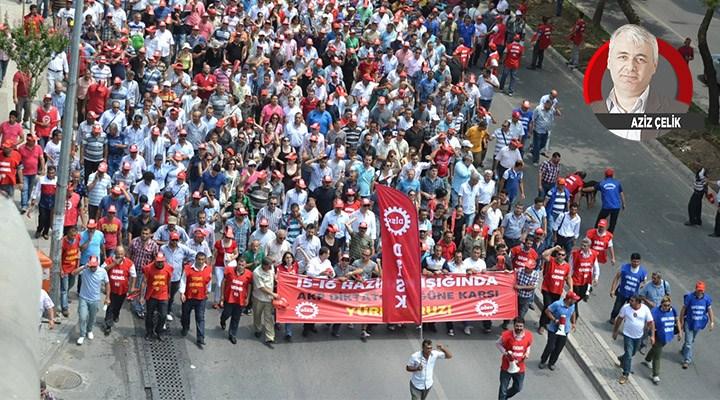 Asgari ücret için grev haktır