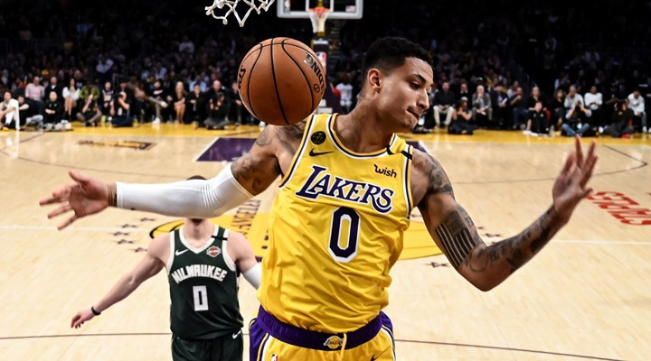 Lakers, Kyle Kuzma ile 3 yıllık sözleşme imzaladı