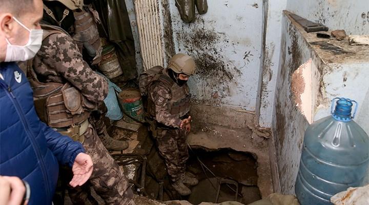 Balat'taki uyuşturucu operasyonunda 30 metre derinliğinde tünel bulundu
