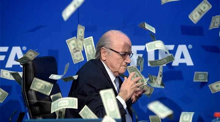 FIFA'dan eski başkanı Blatter hakkında suç duyurusu