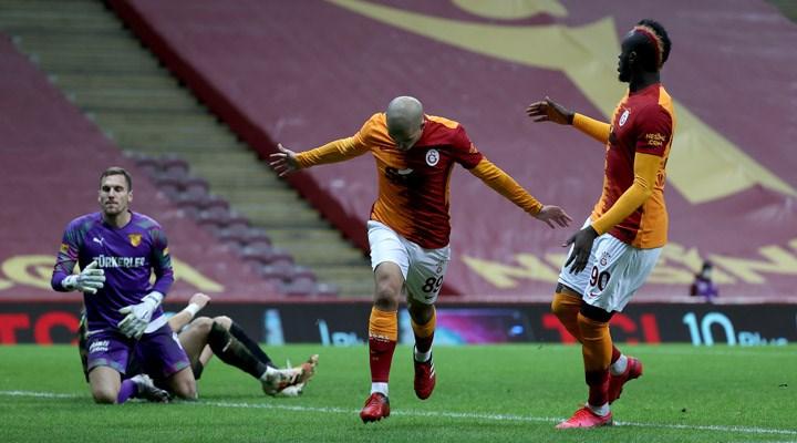 Galatasaray, Göztepe'yi 3 golle geçti