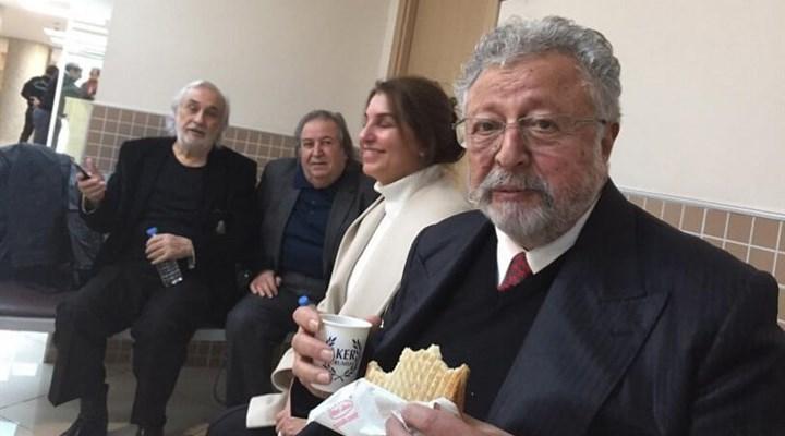 """Gezen ve Akpınar'ın """"Erdoğan'a hakaret"""" davası başladı"""