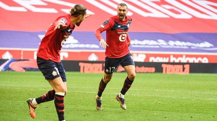 Burak Yılmaz attı, Lille kazandı