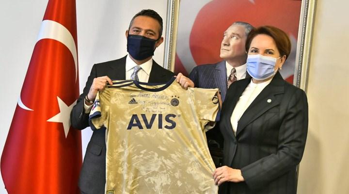 Fenerbahçe Başkanı Ali Koç, Meral Akşener'i ziyaret etti