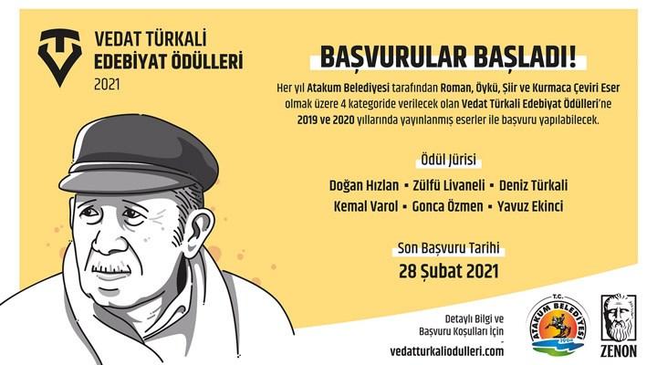 Vedat Türkali Edebiyat  Ödülleri için başvurular başladı