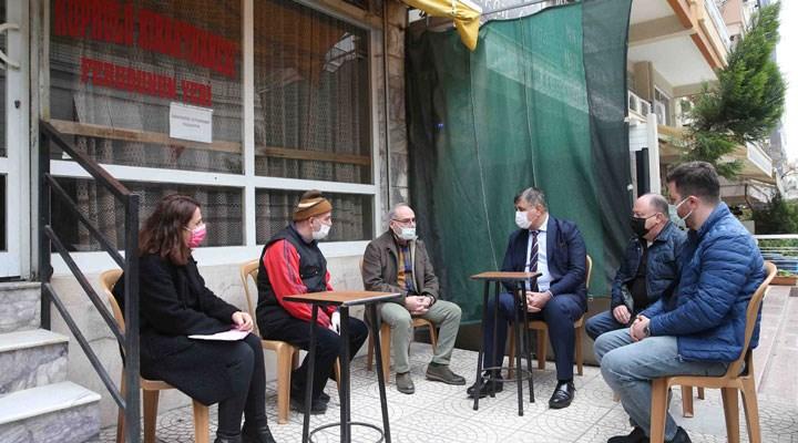Karşıyaka Belediyesi'nden kıraathanelere 500'er TL destek