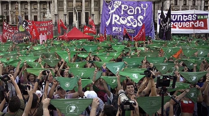 Arjantin'de kürtaj hakkı Senato'da
