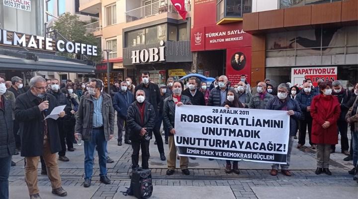 Roboski Katliamı İzmir'de anıldı