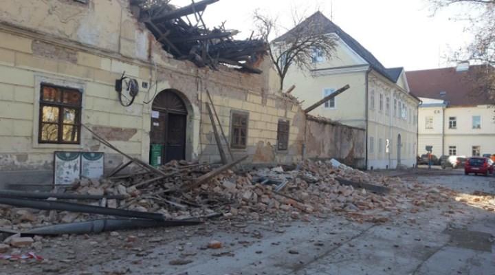 Hırvatistan'da 6,3 büyüklüğünde deprem: 5 kişi hayatını kaybetti