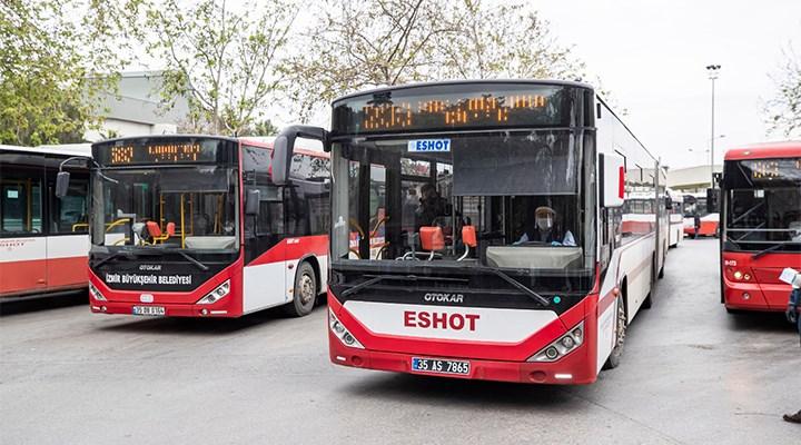 İzmir'de toplu ulaşıma yılbaşı ve hafta sonu düzeni