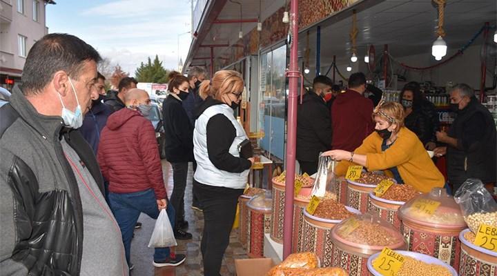 Yılbaşı öncesi Edirne'ye Bulgar turist akını