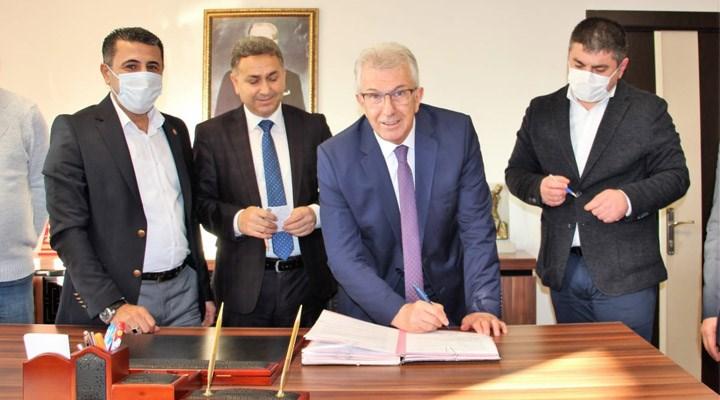 Ödemiş Belediyesi'nde toplu iş sözleşmesi imzalandı