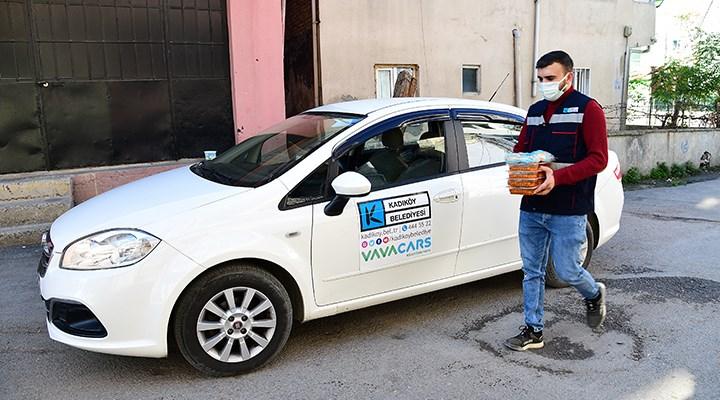 Kadıköy Belediyesi'nden Covid-19 hastalarına sıcak yemek