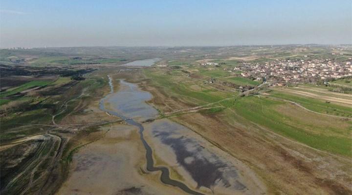 Sazlıdere Barajı da kurudu