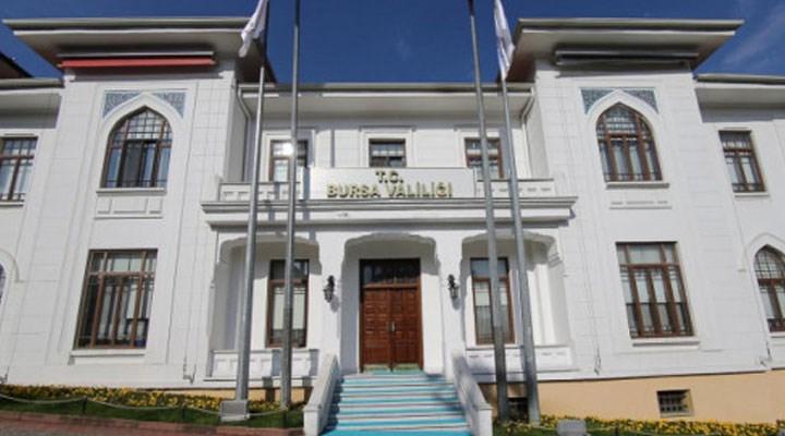Bursa Valiliği, Sözcü gazetesinin dağıtım etkinliğine izin vermedi