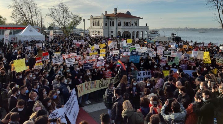 Öğrenciler yürüyor, Boğaziçi direniyor: Talepler sıralandı