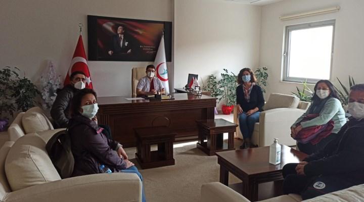 SES Antalya Şubesi örgütlenme gezilerini sürdürüyor