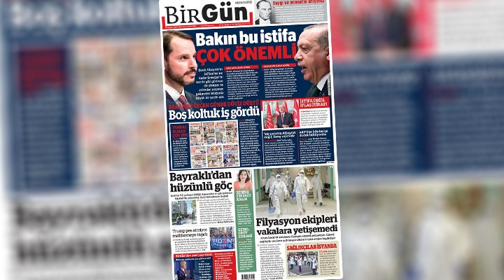 Gelenek sürüyor: Yılın manşeti BirGün'den