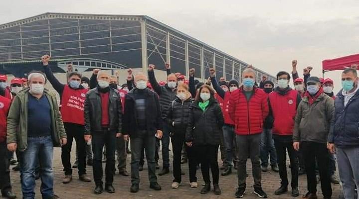 Direnen metal işçileri Meclis gündeminde