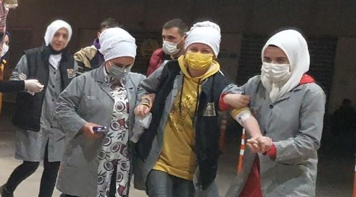 Bursa'da 20 işçi tinerden zehirlendi