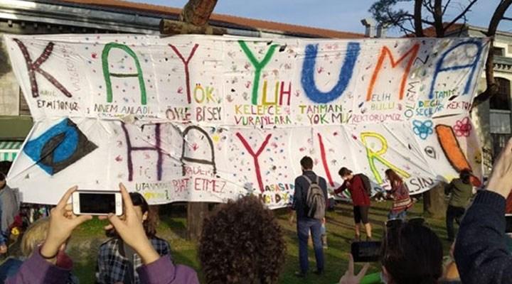 Boğaziçi direnişinde 6. gün | Melih Bulu'ya Uğur Dündar göndermesi
