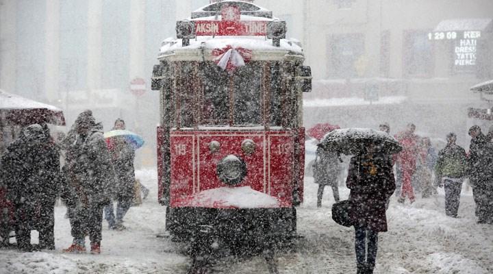 AKOM'dan İstanbul için kar uyarısı