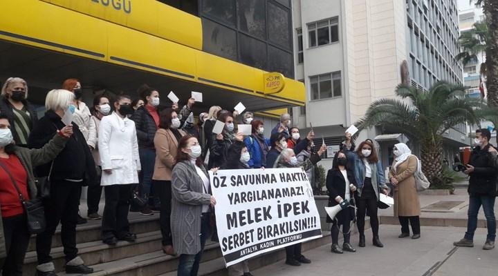 Antalya Kadın Platformu: Melek İpek serbest bırakılsın