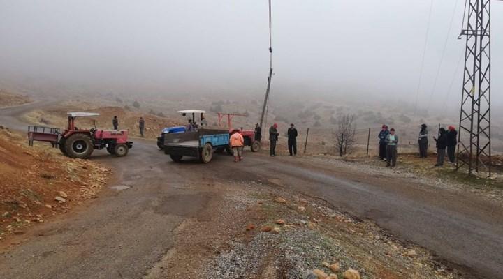 Madenci şirketi köye sokmadılar