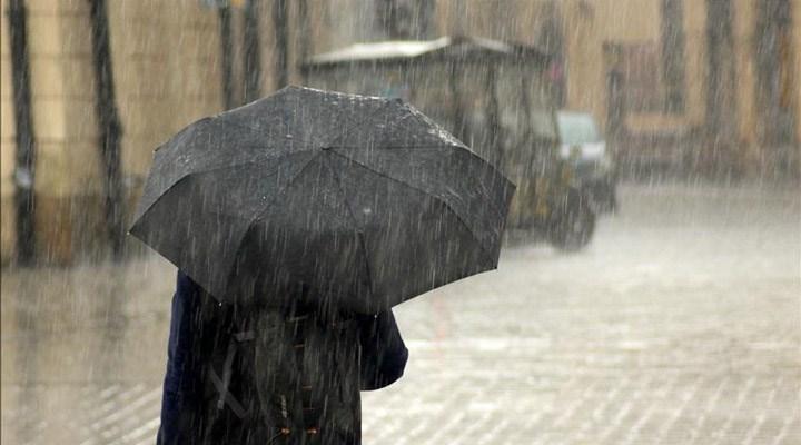 Meteoroloji'den İstanbul için kuvvetli sağanak yağış uyarısı