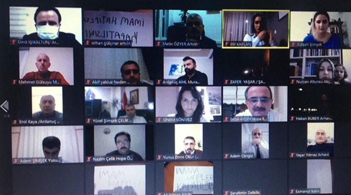 SOL Partili gençlerden Erdoğan'ın Başdanışmanı'na 'imam hatipler kapatılsın' protestosu