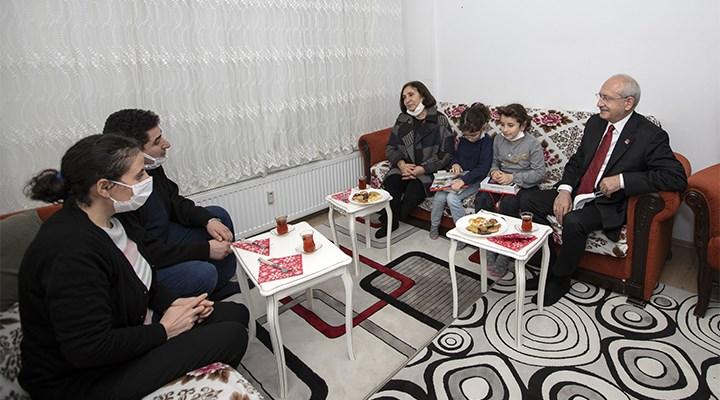 Kılıçdaroğlu'ndan apartman görevlisine ziyaret: Örgütlenmeniz gerek
