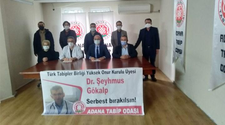 Adana Tabip Odası: Dr. Şeyhmus Gökalp serbest bırakılsın