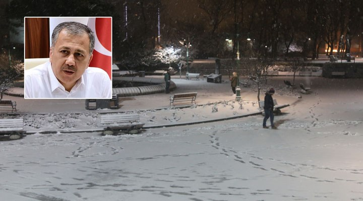 İstanbul Valisi'nden kar uyarısı: Yoğun yağış tahmin ediliyor