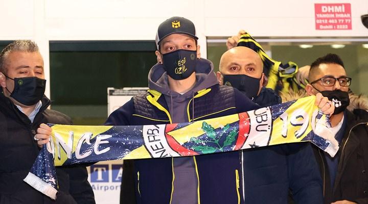 Mesut Özil: Sadece Fenerbahçe için değil, benim için debir rüya gerçekleşiyor