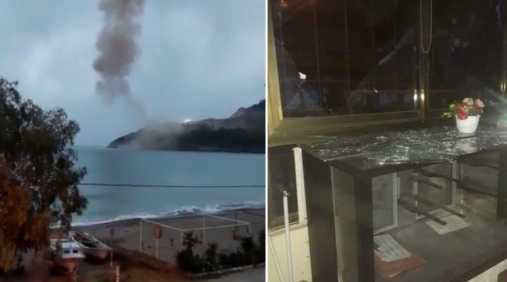 Akkuyu Nükleer Santrali inşaatında patlama