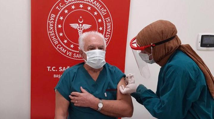 Doğu Perinçek de koronavirüs aşısı yaptırdı