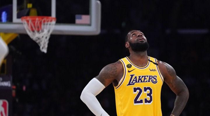 Los Angeles Lakers'ın galibiyet serisi sona erdi