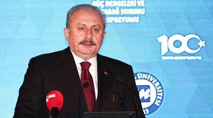 Meclis Başkanı Şentop'tan 'taraflı cumhurbaşkanı' itirafı
