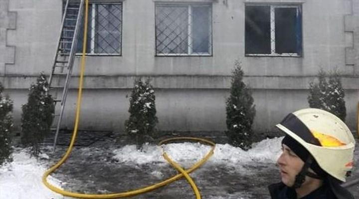 Ukrayna'da huzurevinde yangın: 15 can kaybı