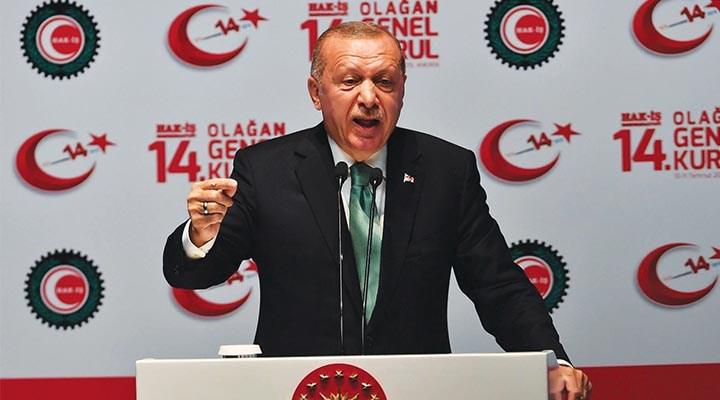 Erdoğan beyaz, Merkez siyah diyor