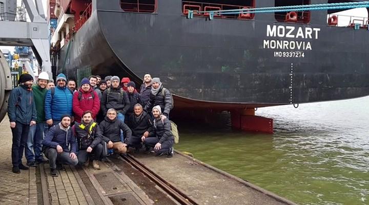 Nijerya'da rehin alınan Türk gemisinin Gabon'da limana demirlediği açıklandı