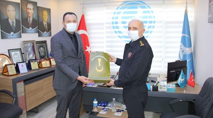 İl Jandarma Komutanı, Ülkü Ocakları'nı ziyaret etti