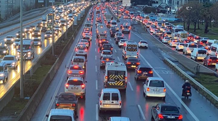 İstanbul'da trafik yoğunluğu yüzde 78'e ulaştı
