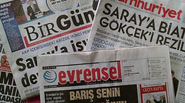 BİK'in cezalarına karşı yandaş olmayan gazeteler tek ses: Amaçları muhalif sesleri bastırmak