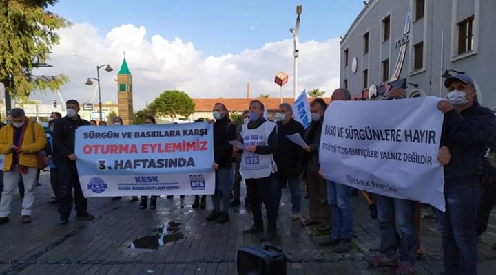 BTS İzmir: Sendikamıza yönelik sürgünlere dur diyoruz