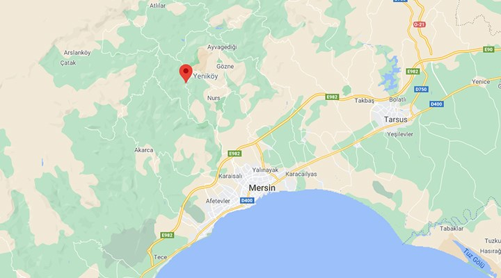 Mersin'de 3.4 büyüklüğünde deprem
