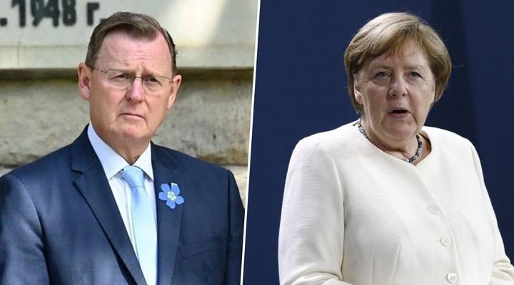 Almanya'da Sol Partili Eyalet Başbakanı, Federal Başbakan'a 'Merkelcik' dedi, kriz çıktı